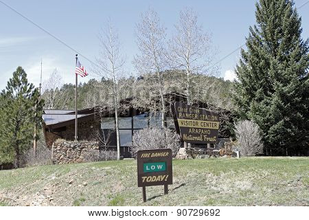 Clear Creek Ranger Station