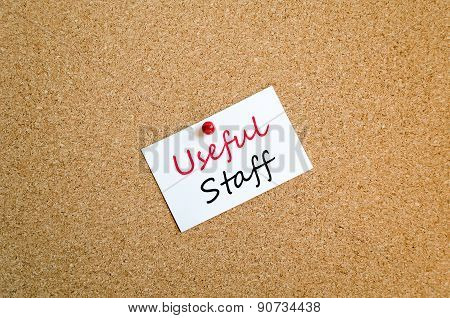 Useful Staff Sticky Note Concept