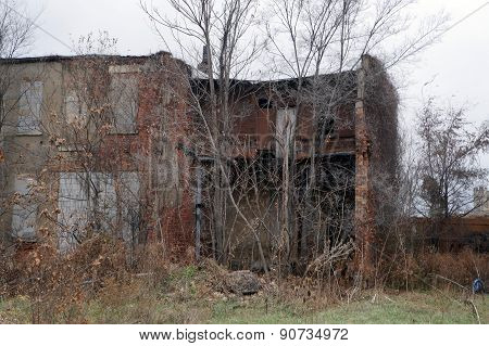 Ruined Building in Joliet, Illinois