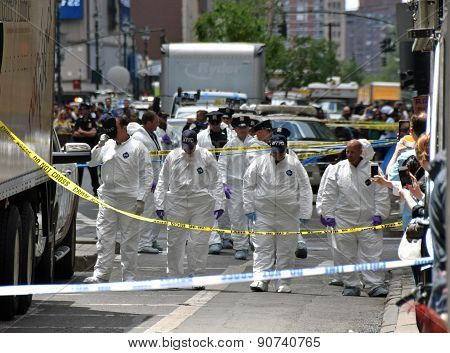 Crime Scene Investigators In New York City