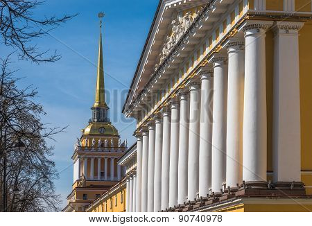 Admiralty Building, Saint Petersburg, Russia