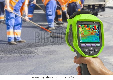 Recording Workers With Infrared Thermal Camera