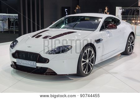 Aston Martin Vanquish On Display