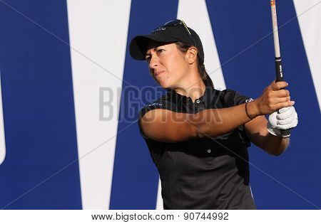 Marina Alex At The Ana Inspiration Golf Tournament 2015