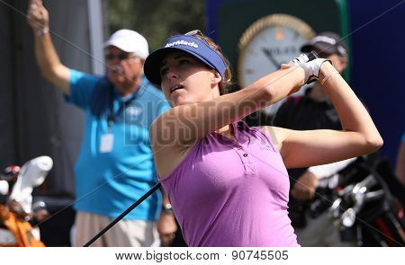 Jaye Marie Green At The Ana Inspiration Golf Tournament 2015