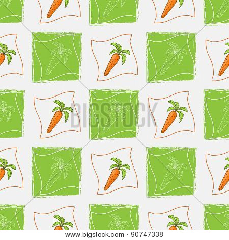 Pattern with carrot