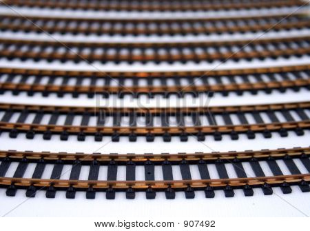 Model Train Tracks