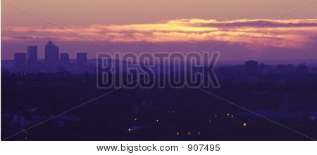 Purple Skyline