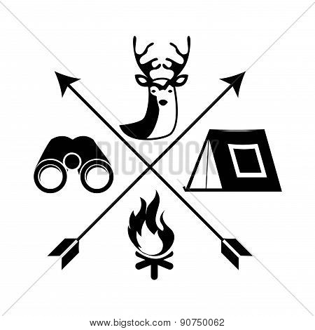 adventure design over white background vector illustration