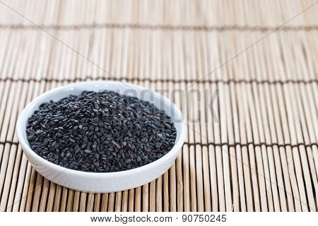 Black Sesame (close-up Shot)