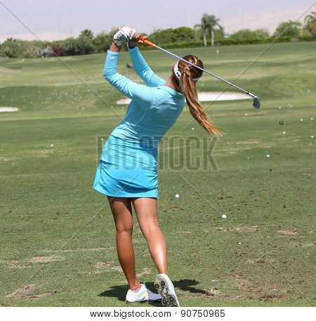 Alison Lee At The Ana Inspiration Golf Tournament 2015