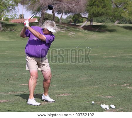 Laura Davies At The Ana Inspiration Golf Tournament 2015