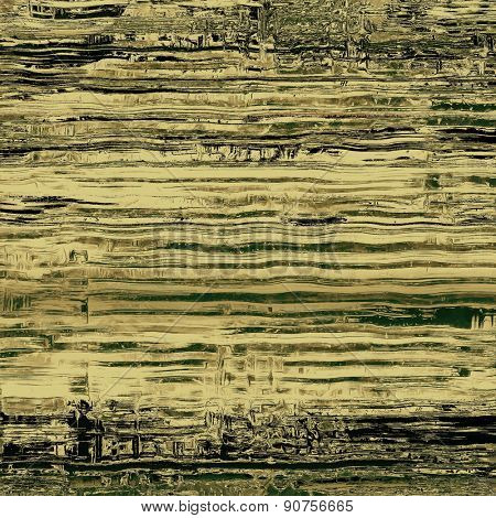 Abstract old background or faded grunge texture. With different color patterns: yellow (beige); gray; green; black