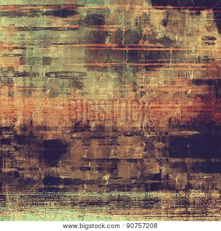 Grunge retro vintage texture, old background. With different color patterns: brown; gray; purple (violet); black