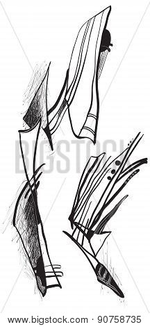 Art Of Line Art - Abstraction