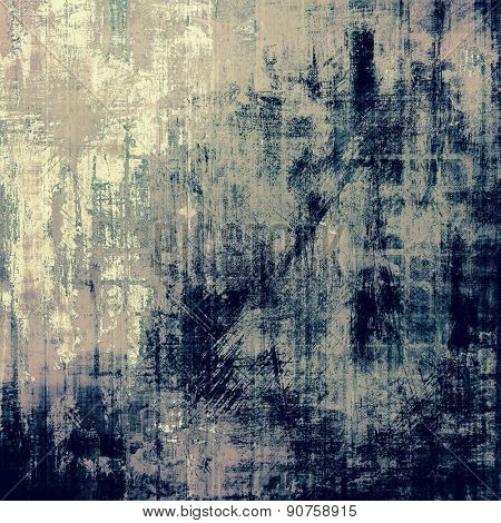 Beautiful vintage background. With different color patterns: brown; gray; blue; black