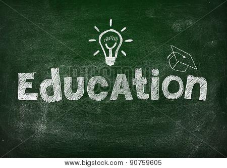 Blackboard With Education