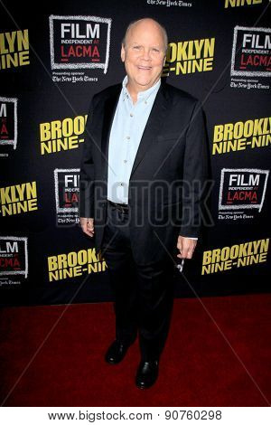 LOS ANGELES - MAY 7:  Dirk Blocker at the An Evening With Brooklyn Nine Nine at the Bing Theater at LACMA on May 7, 2015 in Los Angeles, CA