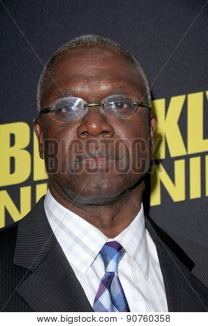 LOS ANGELES - MAY 7:  Andre Braugher at the An Evening With Brooklyn Nine Nine at the Bing Theater at LACMA on May 7, 2015 in Los Angeles, CA