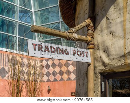 Generic trading post sign