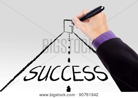 Road To Get The Success Door