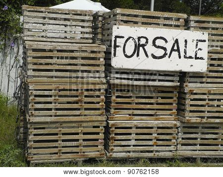 Old Lobster Traps For Sale