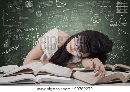 Dreaming Student In The Class