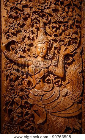 Wood Carving Art