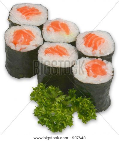 Sushi Isolated 161006