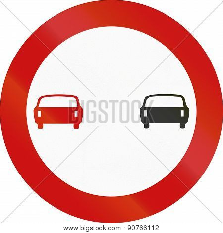No Overtaking In Greece