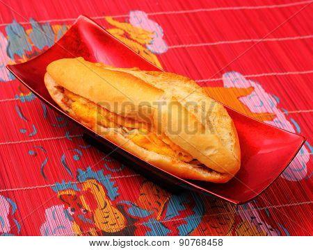 Banh Mi Vietnam Style Sandwich