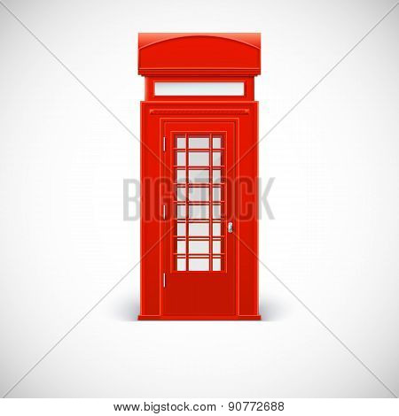 Telephone box, Londone style.