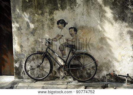 Penang 3d street art