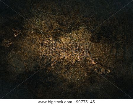 Dusty Grungy Black Surface Texture