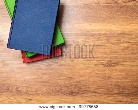 Books lying on the table