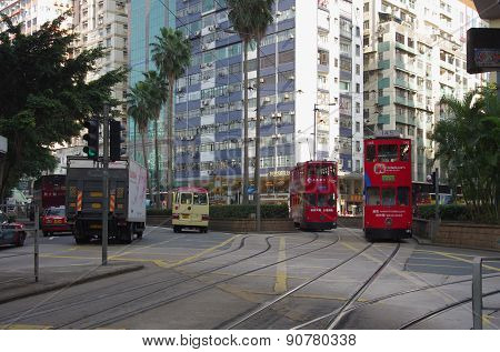 Double-decker Trams