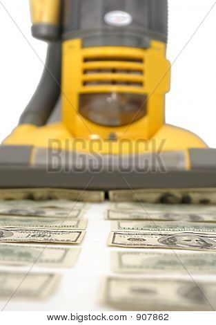 Money Vacuum Cleaner