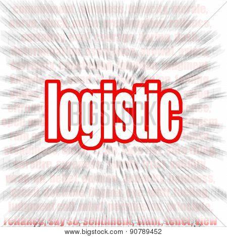 Logistic Word Cloud