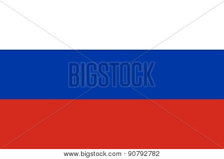Flag Of Russia Horizontal