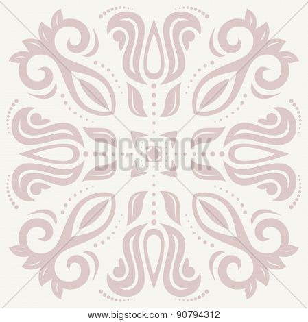 Floral Vector Abstract Pattern