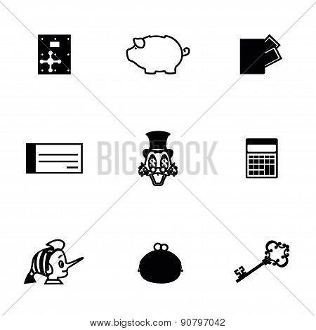 Vector Money icon set
