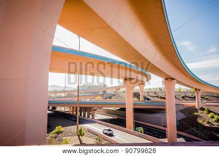 Highway Bridges Near Albuquerque New Mexico