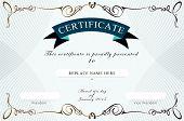 image of certificate  - Certificate border Certificate template - JPG
