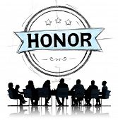 foto of integrity  - Honor Integrity Success Victory Achievement Concept - JPG