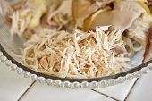 pic of chickens  - Shredded chicken for the ingredient for Soto - JPG