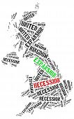 foto of stagnation  - Expansion and recession in UK - JPG