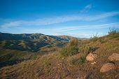 image of wilder  - Rocks and boulders form California hillside in the Mojave desert wilderness - JPG