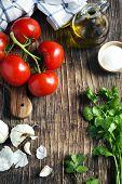 picture of cilantro  - Fresh Tomatoes - JPG