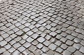 Very old roman pavement