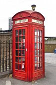 image of covenant  - Traditional old style UK red phone boxes in London - JPG